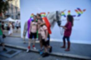 Unicorno Gay Pride