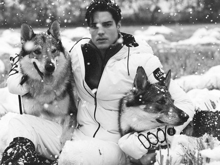 Giorgio Armani Neve FW20-21 - Shooting con animali - AnimalSpotMilano