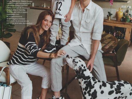 Vanity Fair: we are family, Stefania Paparelli e Simone Guidarelli
