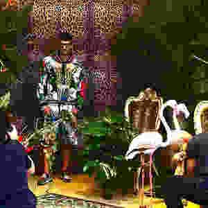 Backstage Dolce e Gabbana Collezione Uomo