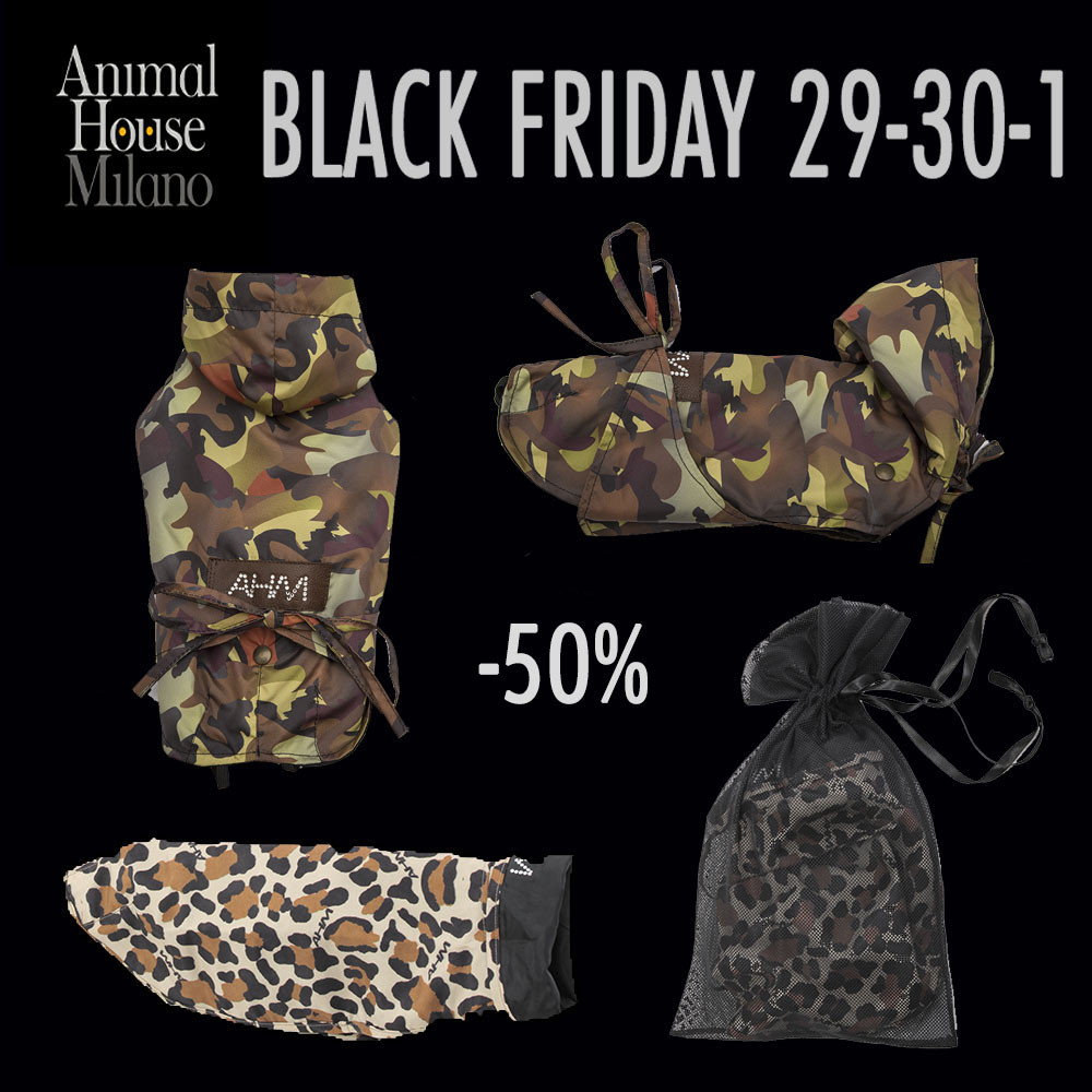 Black Friday animali