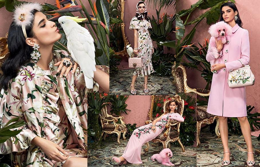 Campagna Pubblicitaria Dolce&Gabbana Collezione Donna Autunno\Inverno 2019-20
