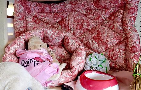 Cucce per cani rosa