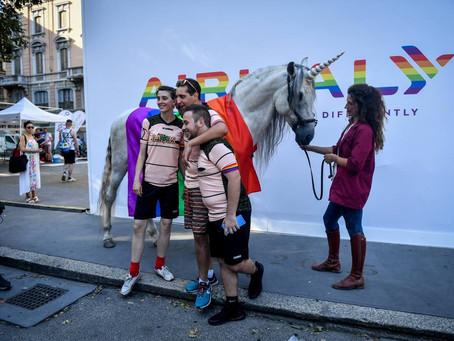 la campagna di Vitasnella per il Pride