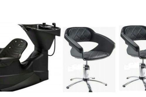 Promo! Lavatorio + 2 sillas