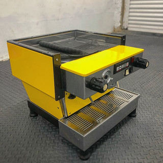 Coffee Machine wrapped in gloss yellow