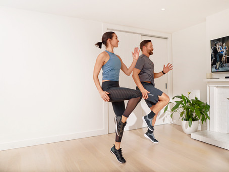 HOME EXERCISE HACKS FROM THE PROS