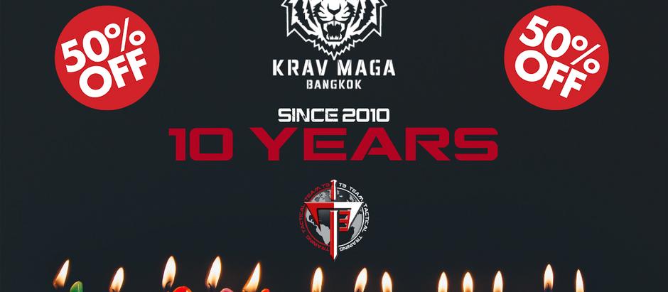10 YEARS ANNIVERSARY - 50% OFF