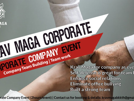 Krav Maga as Corporate Team Building Event