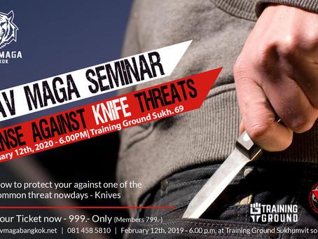 Defense Against Knife Threats - Seminar