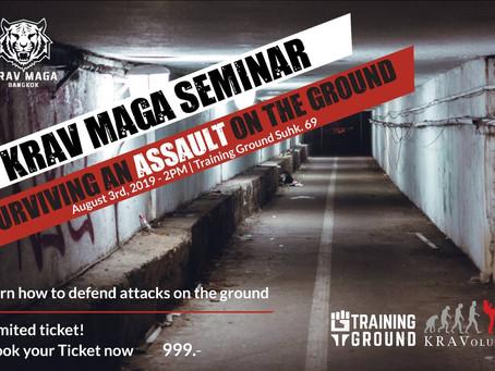 Surviving an Assault on the Ground - Seminar