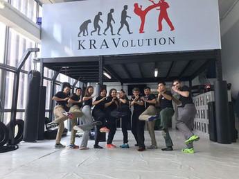KRAVolution Instructor team 2018