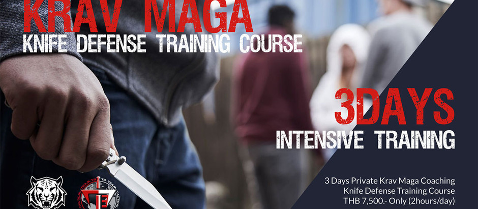 3 Days Knife Defense Training Course