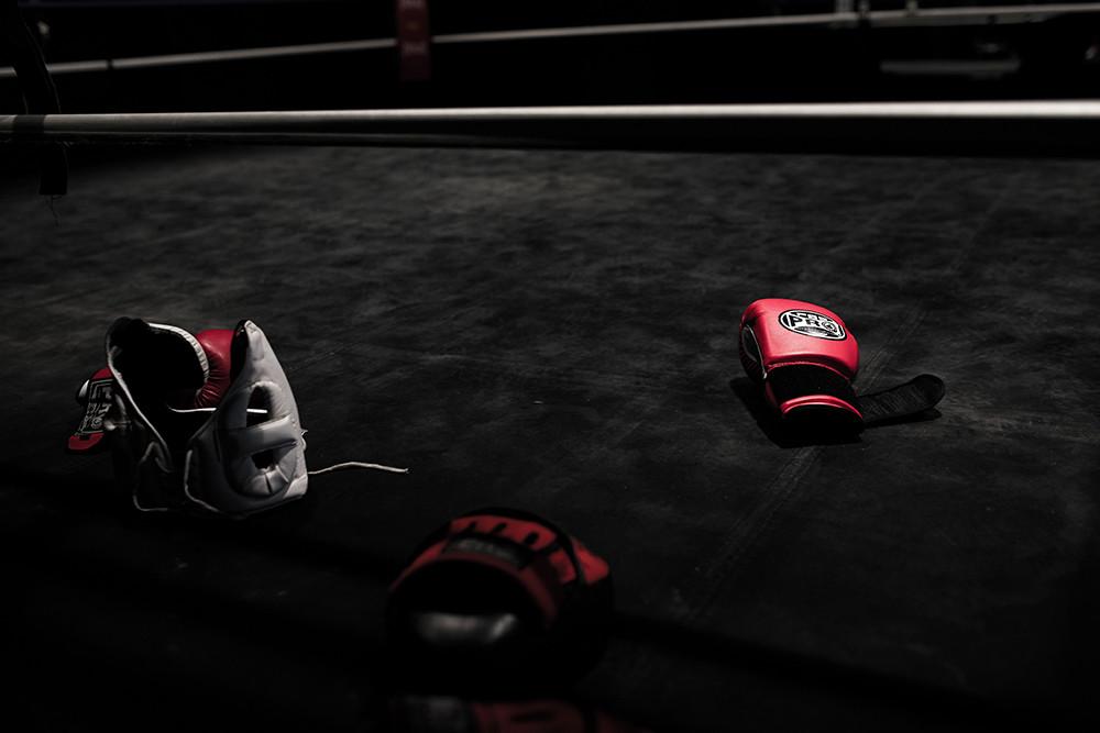 krav maga gloves and headgear for training