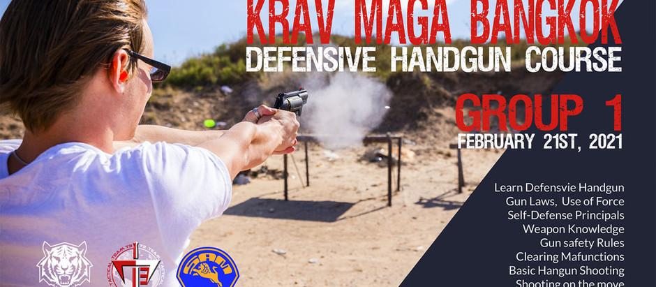 KRAV MAGA BANGKOK OUTING - Defensive handgun Course