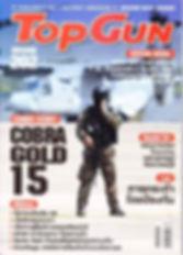 Krav Maga Bangkok review in Top Gun magazine cover page