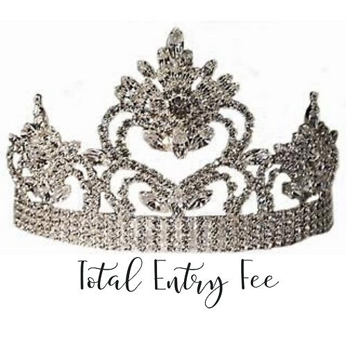 Mrs. Utah America Total Entry Fee (Minus Deposit)
