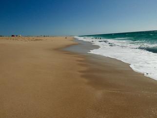 Strand Melides, Westküste