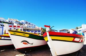 portugiesische Fischerboote