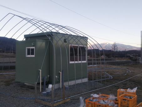 パイプハウス建設