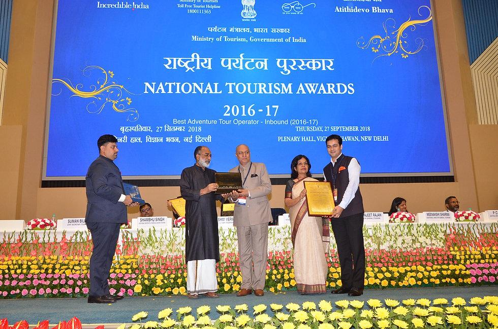 SnowLion National Tourism Award.JPG