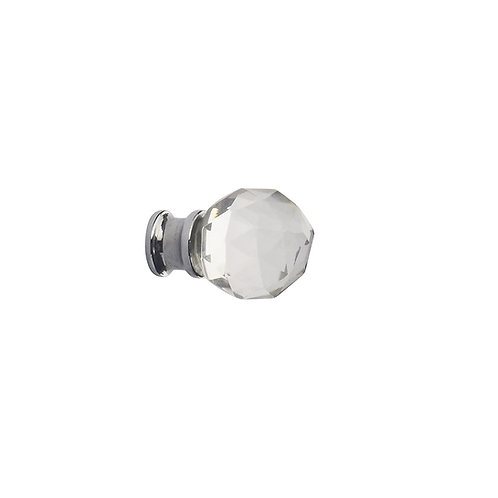 Faceted Glass Knobs