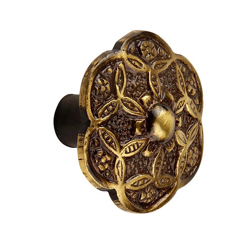 Ornate  (28 mm Dia) Door Pull Handle Knobs