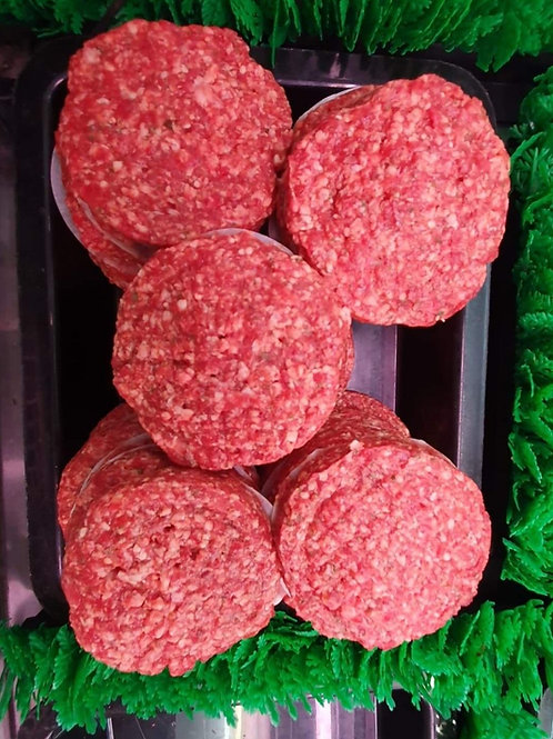 BEEF - Burger Patties Gluten Free