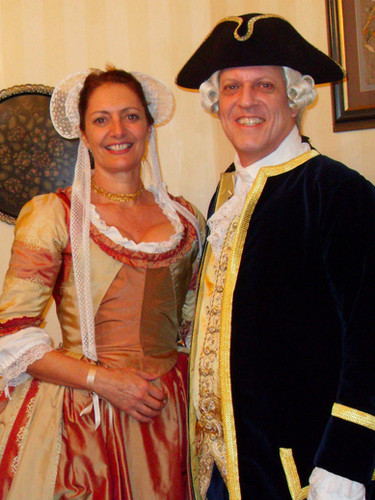 Melle Galli with Lord Dunmore