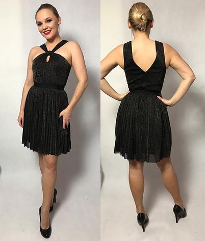 Czarna sukienka tiulowa rozmiar 34,36