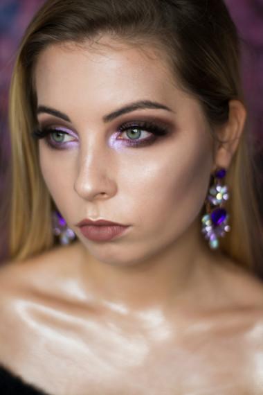 Modelka: Weronika Gacek Mua & fot: Martyna Plińska