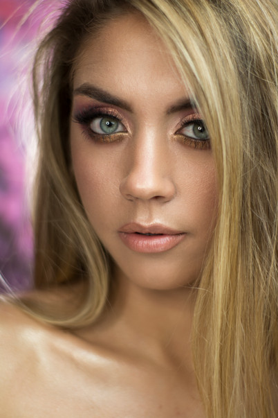 Modelka: Paulina Wijata Mua & fot: Martyna Plińska