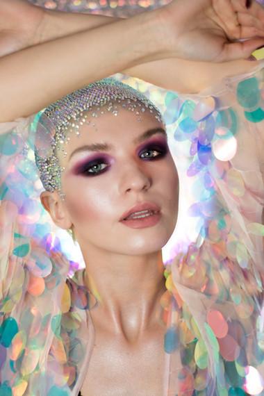Modelka: Inez Waszkiewicz Makeup &foto: Martyna Plińska