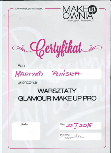 Makeupownia Marzena Tarasiewicz
