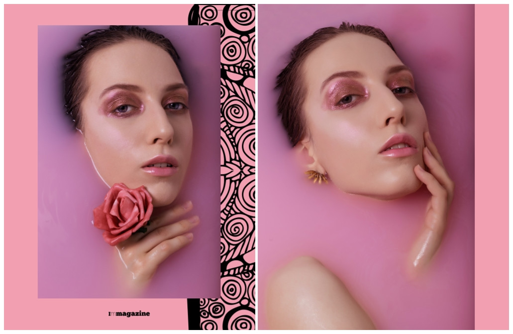 Drown in pink