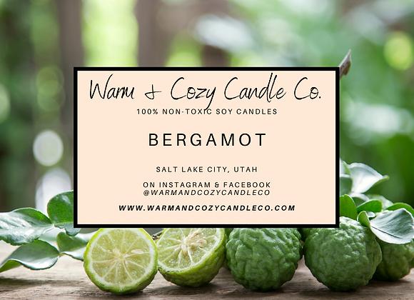 Bergamot 100% Soy Candle