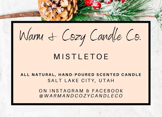 Mistletoe 100% Soy Candle