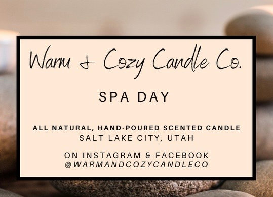 Spa Day 100% Soy Candle