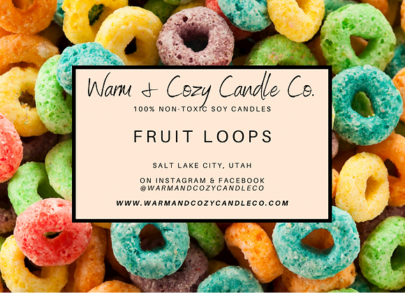 Fruit Loops 100% Soy Candle