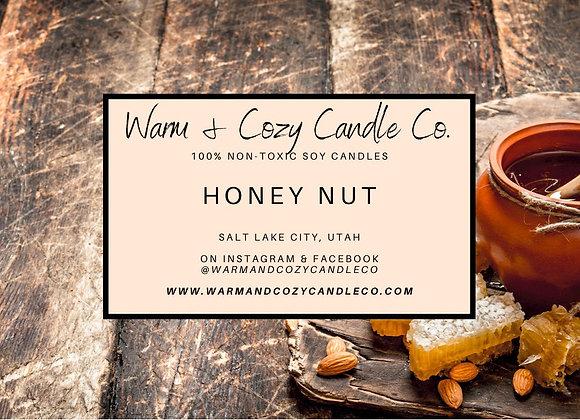 Honey Nut 100% Soy Candle