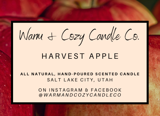 Harvest Apple 100% Soy Candle