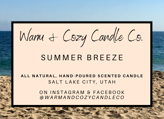Summer Breeze 100% Soy Candle