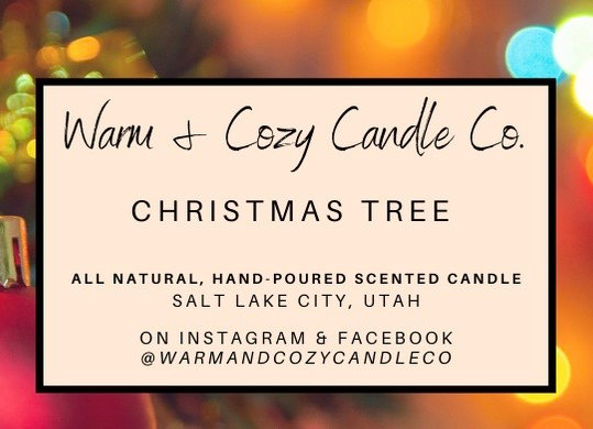 Christmas Tree 100% Soy Candle
