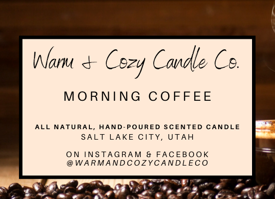 Morning Coffee 100% Soy Candle