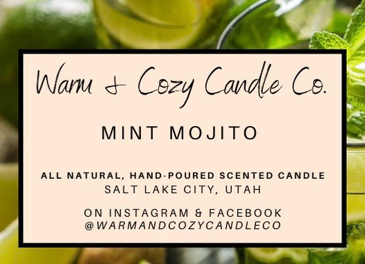 Mint Mojito 100% Soy Candle