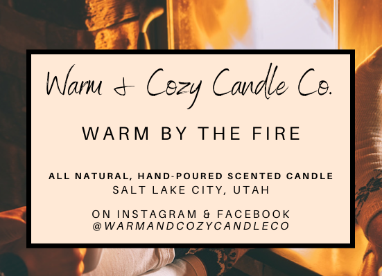 Warm by the Fire 100% Soy Candle