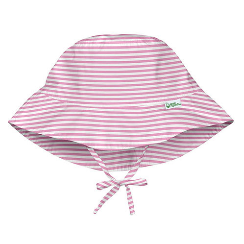 Pink Striped Sun Hat