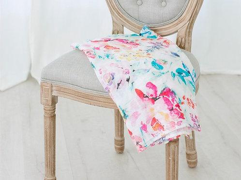 Flora Swaddle Blanket-organic