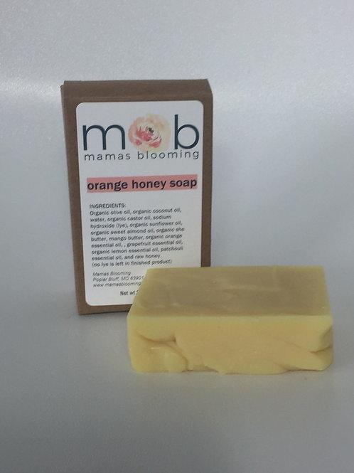 Orange Honey Soap