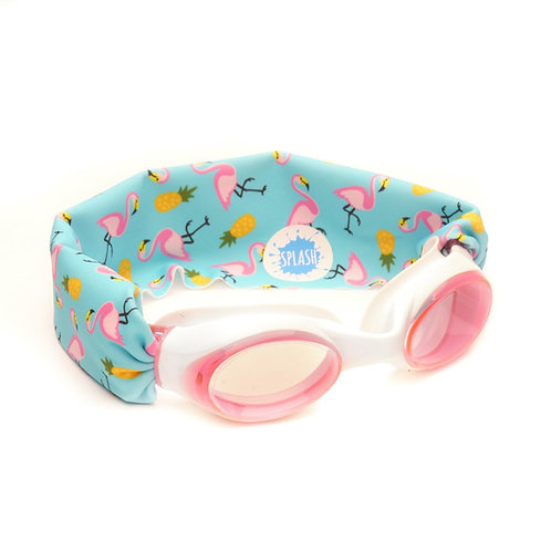 Flamingo Island Swim Goggles ages 3+
